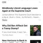 ios 9 news app for you tab