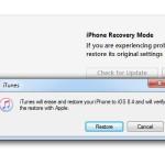 itunes restoring iphone to ios 8.4