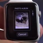 photo album watch face selector