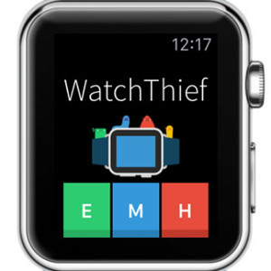 watchthief home screen
