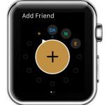 add friends from apple watch