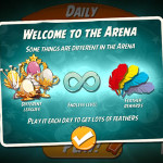 angry birds 2 arena features