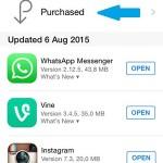 app store updates list
