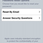 apple id password reset options