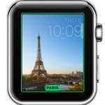 apple watch paris timelapse watch face