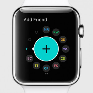 apple watch revamped friends feature