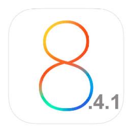 ios 8.4.1 logo