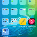 iphone home screen app edit mode