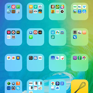 no name ios folders on iphone home screen