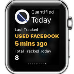 quantified apple watch glance