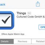 things app store listing