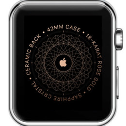 Unpaired Apple Watch screen