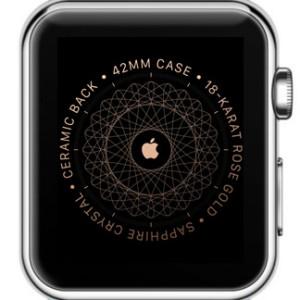 Unpaired Apple Watch screen