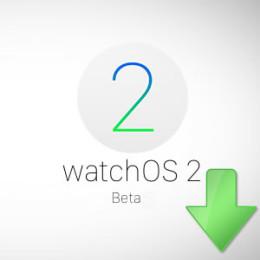 watchos 2 beta download logo