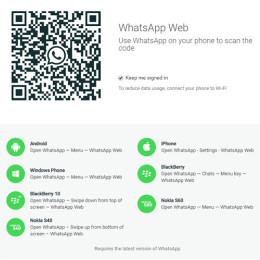whatsapp web iphone authentification