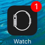apple watch app software update badge alert