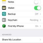 find my iphone icloud settings