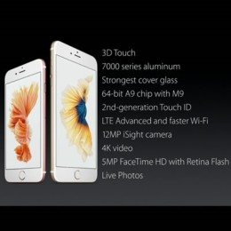 iphone 6s features and enhancements