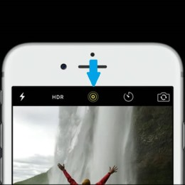iphone 6s live photos button