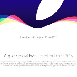 iphone 6s release live stream