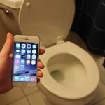 iphone 6s toilet drop test
