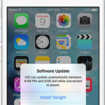 iphone automatic software update prompt