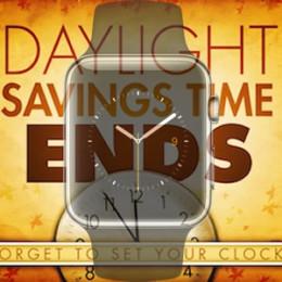 apple watch daylight saving time