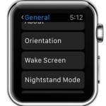 apple watch wake screen settings