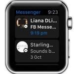 facebook messenger watchos 2 home screen