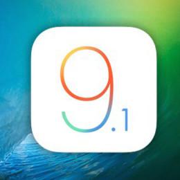 ios 9.1 logo