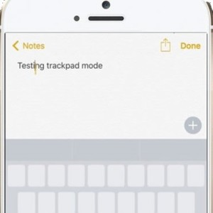 iPhone 6S 3D Touch Trackpad Trick.