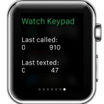 watch keypad glance