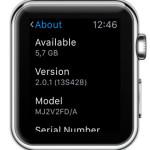 watchos 2.0.1 version number