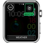 breathe app complication for activity watch face