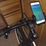 hatching pokemon egg with a bike