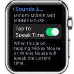 watchos 3 tap to speak time option