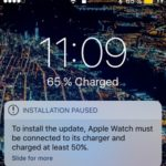 apple watch installation paused iphone prompt