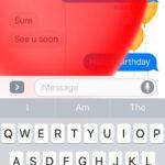 happy birthday ios 10 message animation