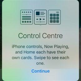 ios 10 redesigned control centerios 10 redesigned control center