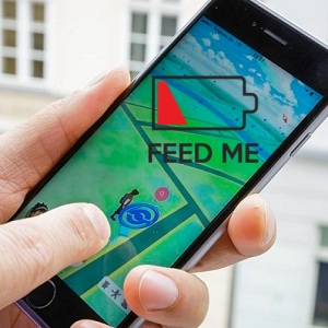 iphone with low battery while playing pokemon go