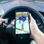 pokemon go while driving
