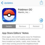 updating pokemon go app store app