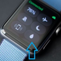 Apple Watch Water Eject Feature
