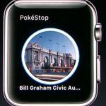 apple watch pokestop screen