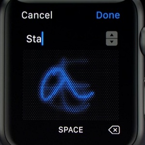 Apple Watch Scribble Feature