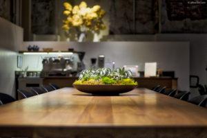 Dinning Desk Wide Gamut Wallpaper