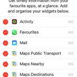 iOS 10 new widgets list