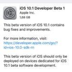 iOS 10.1 Developer Beta 1