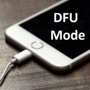 iPhone 7 in DFU Mode