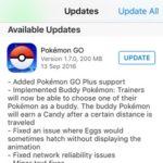 pokemon go 1.7.0 update log